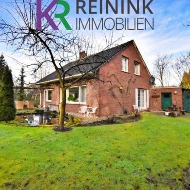 Außenaufnahme eines Einfamilienhauses in Bad Bentheim