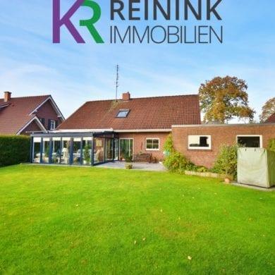Außenaufnahme eines Einfamilienhauses in Itterbeck