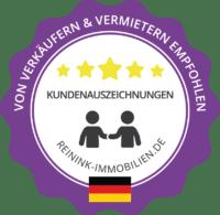 Top Bewertung und Auszeichnung für Immobilienmakler Nordhorn